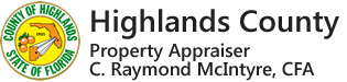 Highlands County Property Appraiser main page